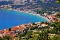 Baska Krk sziget egyik turista paradicsoma. Sokan járnak ide strandolni.