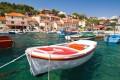 Maslinica Horvátországban a Solta sziget nyugati partján fekvő színes halászfalu.