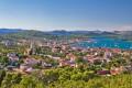 Murter sziget Horvátország kellős közepén fekszik, a Kornati szigetvilág kapujában.