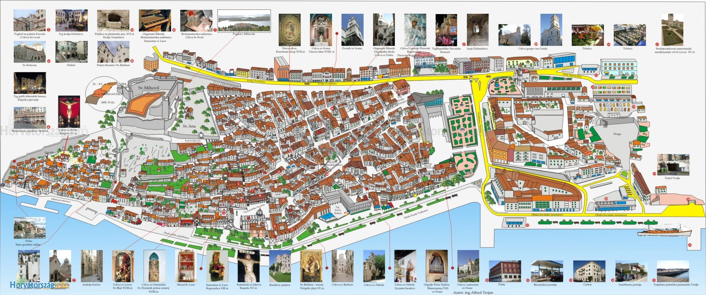 budapest látványosságai térkép Nyaralás Sibenikben? Érdekességek, programok, látnivalók budapest látványosságai térkép