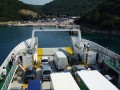 Valbiska Horvátországban a Krk szigeten. Ide futnak be a Cres szigetről induló kompok.