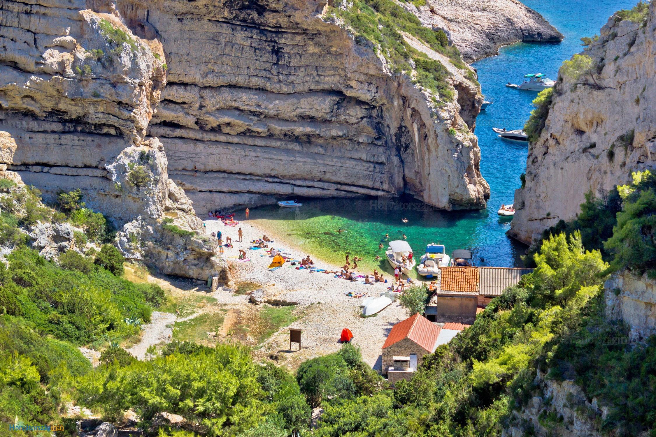 vis sziget térkép Vis sziget, Horvátország nyaralás, látnivalók, legjobb utazási