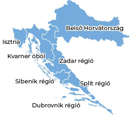 ismerd meg horvátországot