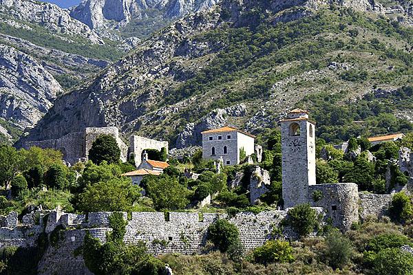 Egy igazi középkori kihalt város Stari bar