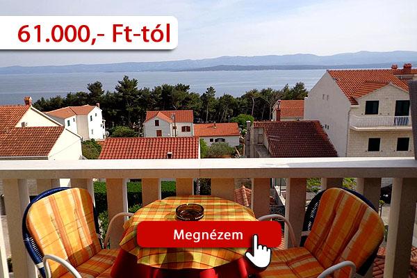 Szállás Horvátország strandján – Vallum apartman