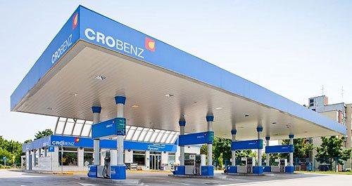 Crobenz benzinkút Horvátországban