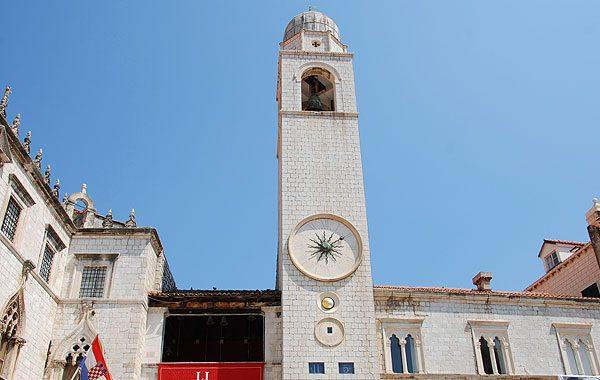Az óváros legmagasabb épülete a Harangtorony