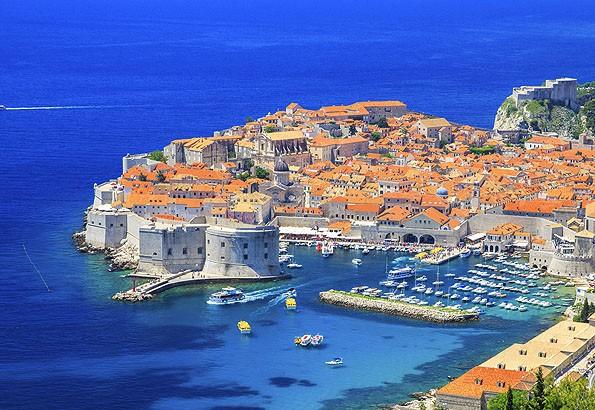 Dubrovnik óvárosát szépen helyreállították