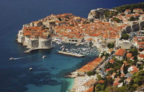 Dubrovnik óvárosa most