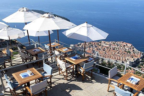 A Panoráma étteremből Horvátország egyik legszebb panorámája tárul elénk.