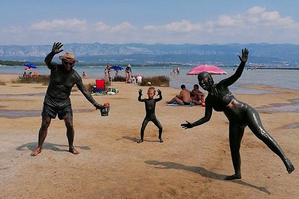 Iszapmező Silo strandján
