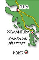Itt található a Kamenjak-félsziget