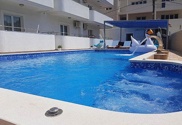 Montenegró szállás – Maslina apartman
