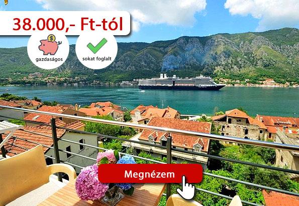 Montenegró szállás – Coso apartman