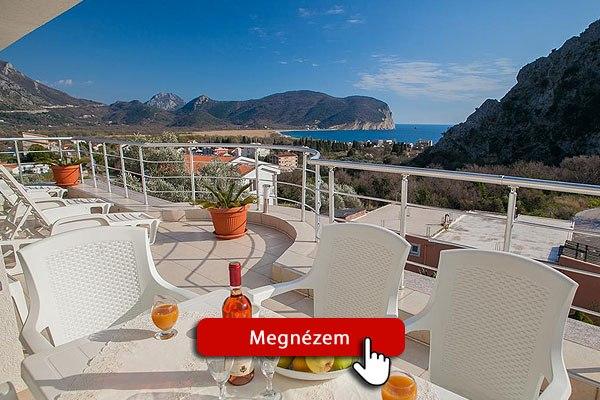 Montenegró szállás – Jovicevic apartman