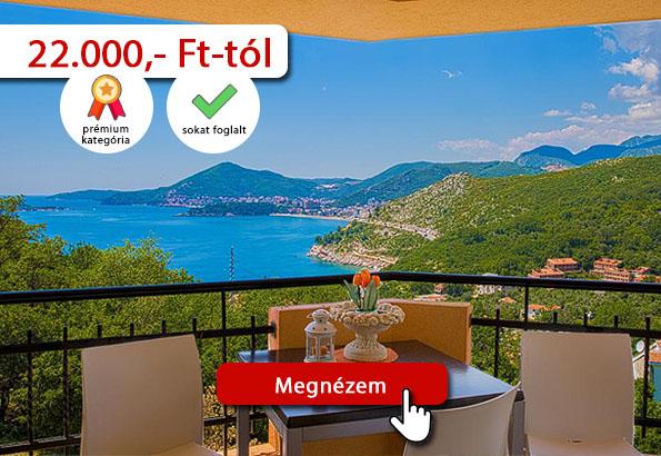 Montenegró szállás – Radevic apartman