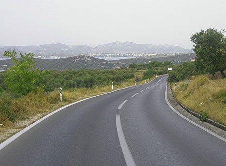 Murter fõút, Murter main road