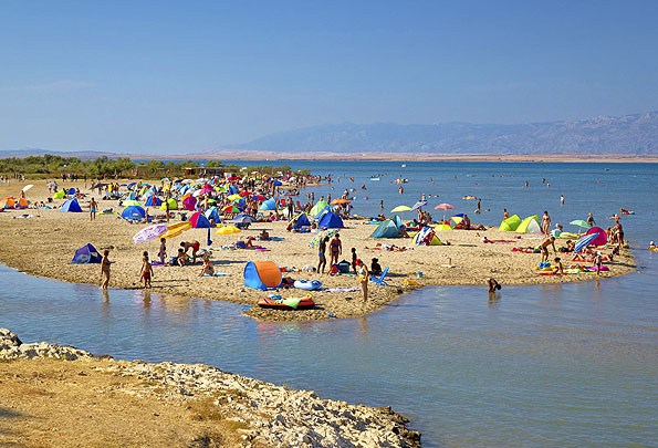 A Nin-i homokos tengerpart