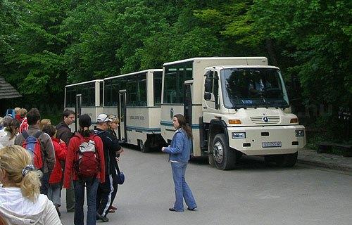Kis busz közlekedik folyamatosan