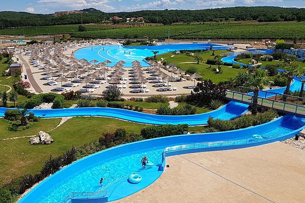 Porec Aquapark a Zelena Laguna részen telálható
