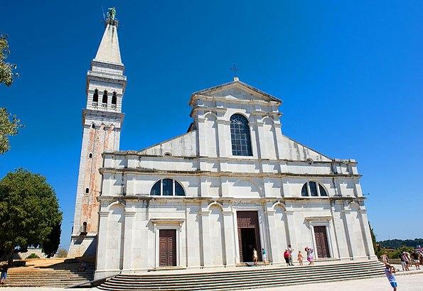 Rovinj, Szent Eufémia templom
