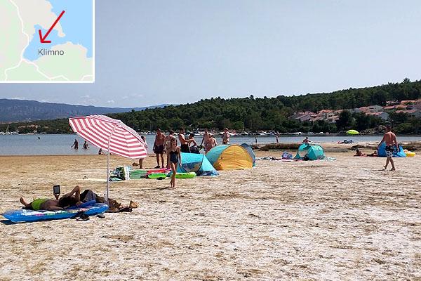 Silo homokos strandja gyógyhatású