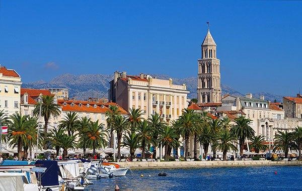 Split Horvátország egy fontos csomópontja