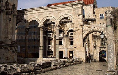 A Diokleciánusz palota Split kötelező látványossága