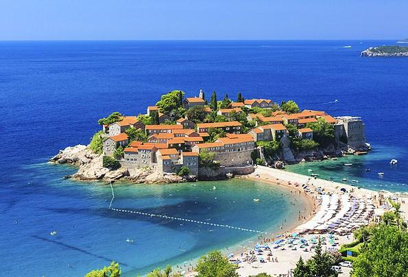 Sveti Stefan Montenegró legszebb épülete