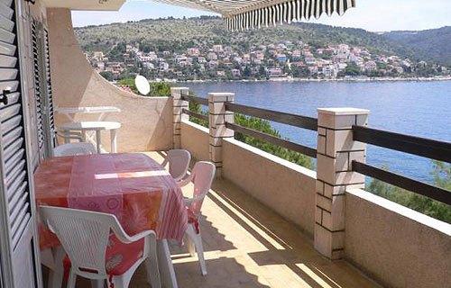 Trogir apartman, tengeri kilátással