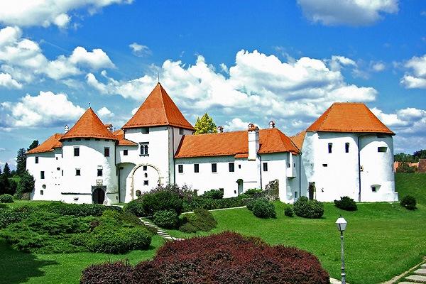 Varazdin vára Horvátország egyik jelképe lett