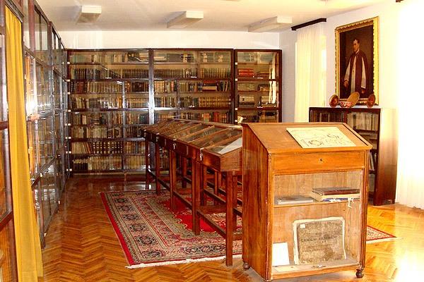 A Vitezić könyvtár Vrbnik óvárosában
