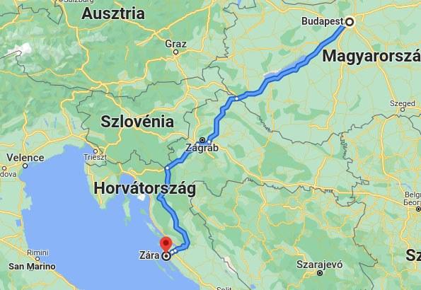 Utazás: Zadar autóval könnyen és gyorsan megközelíthető