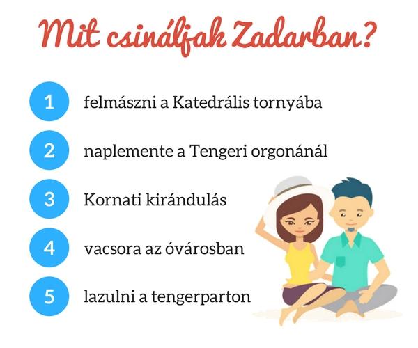 Zadar programok
