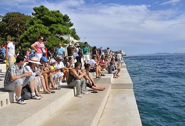 A Zadar Tengeri orgona a legújabb látványosság az óvárosban