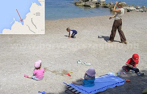Malinksa standja szintén ajánlott tengerpart