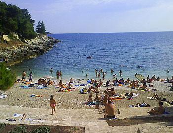 Gortanova beach